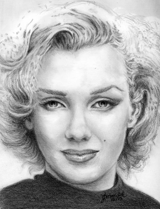 Marilyn Monroe par Jojemo